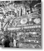 An Old Fashioned Carnival Metal Print