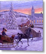 An Old Fashioned Christmas Metal Print
