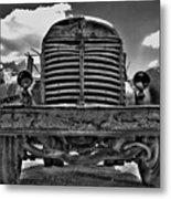 An Old International Truck Metal Print