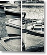 An Old Man's Boats Metal Print
