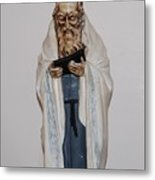 An Old Rabbi Metal Print