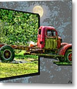 An Old Relic Metal Print