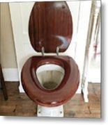 An Old Toilet Metal Print