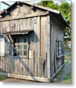 An Old Wooden Shack Metal Print