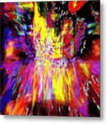 An Optical Effect Metal Print