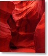 An Orange Chamber Antelope Canyon Metal Print
