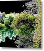 An Umpqua Night Metal Print