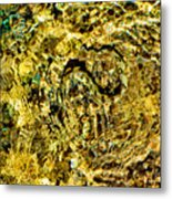 An Unconvincing Disguise. Sea Snake. Metal Print