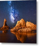 An Unearthly Oregon Coast Metal Print
