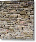 An Uneven Rock/stone/brick Wall Metal Print