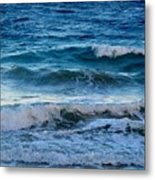 An Unforgiving Sea Metal Print
