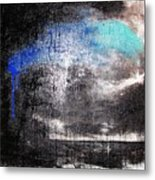 An Unusual Storm  Metal Print
