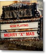 An X Rated Holiday Metal Print