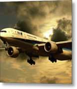Ana Boeing 773 Ja784a Metal Print