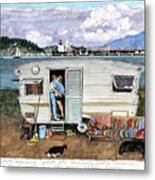 Anacortes Fuel Metal Print
