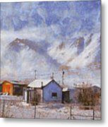 Anaktuvuk - Eskimo Village Metal Print