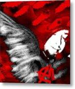 Anarchy Angel Metal Print