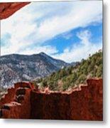 Anasazi Cliff Dwellings #21 Metal Print