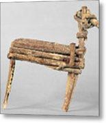 Anasazi Split-twig Figure Metal Print