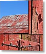 Anatomy Of An Old Barn- Fine Art Metal Print