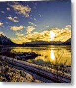 Anchorage Sunrise Metal Print