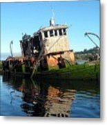 Anchored In The Past Metal Print