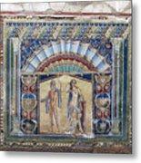 Ancient Art Of Herculaneun Metal Print