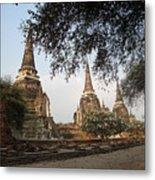 Ancient Buddhist Stupas Metal Print