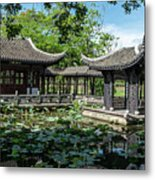 Ancient Chinese Architecture Metal Print