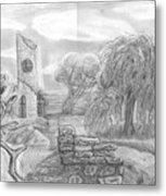 Ancient Church Metal Print
