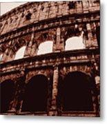 Ancient Colosseum, Rome Metal Print
