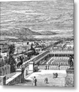 Ancient Corinth, C1894 - To License For Professional Use Visit Granger.com Metal Print