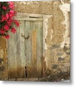 Ancient Door Metal Print