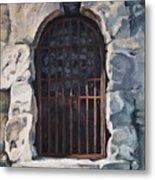 Ancient Door Metal Print