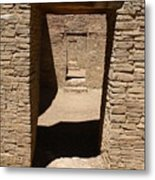 Ancient Doorways Metal Print