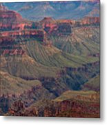 Ancient Formations North Rim Grand Canyon National Park Arizona Metal Print