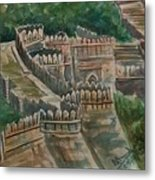 Ancient Fort Metal Print