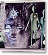 Ancient  Gods Metal Print