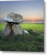 Ancient Grave Metal Print