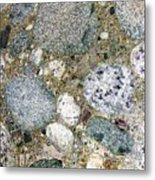 Ancient Lake Bed Metal Print