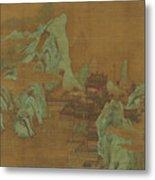Ancient Landscape Metal Print