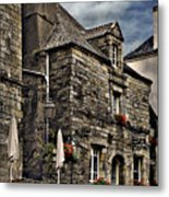 Ancient Mansion - Rochefort-en-terre - La Bretagne Metal Print