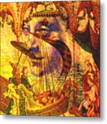 Ancient Of Days Metal Print