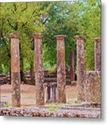 Ancient Olympia, Greece. Metal Print