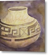 Ancient Pottery Metal Print