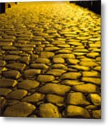 Ancient Roadway Metal Print