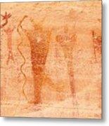 Ancient Rock Art 2 Metal Print