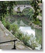 Ancient Roman Foot Bridge Metal Print