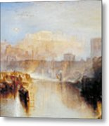 Ancient Rome - Agrippina Landing With The Ashes Of Germanicus Metal Print