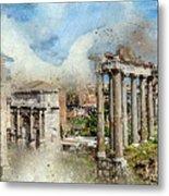 Ancient Rome II Metal Print